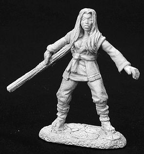 dnd miniature female monk