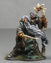 RPG Miniatures Druid With Wand