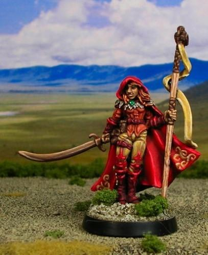 RPG Miniatures Female Druid