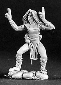 D&D Miniature Scarlet Lotus, Female Monk 3133