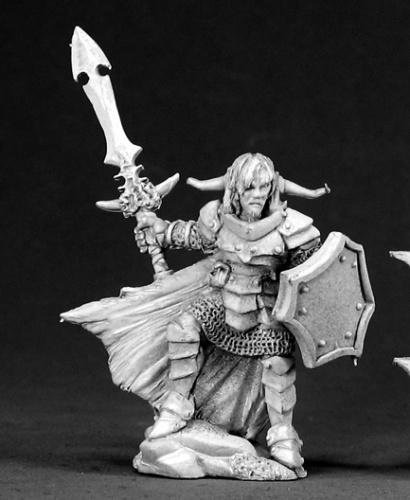 Reaper Miniatures Kalrix, Male Warrior 3307