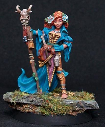 Reaper Miniatures Female Druid 3786
