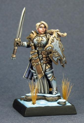 Dark Heaven Legends Trista The White Wolf Paladin 3788