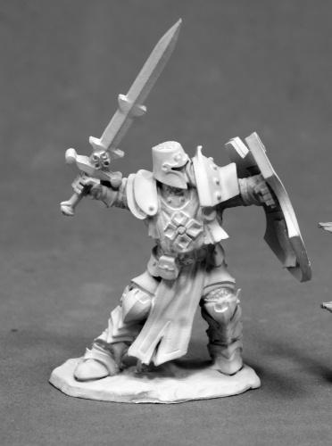 D&D Miniatures Paladin Champion