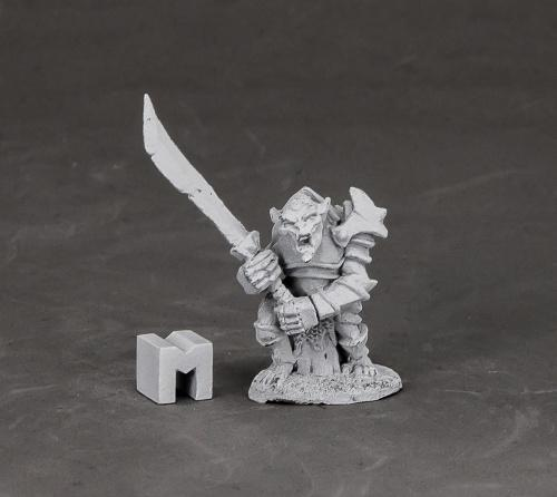 Reaper Miniatures Armored Goblin Leader 3849