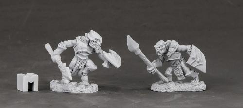 Dark Heaven Legends (Armored Goblin Spearmen 3850) 25mm Miniatures