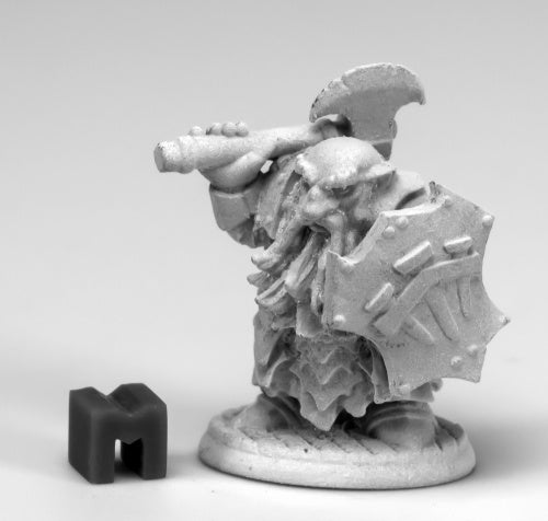 D&D Dark Dwarf Miniature