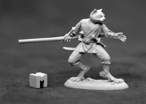 D&D Catfolk Monk Miniature