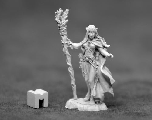 D&D Female Elf Druid Miniature