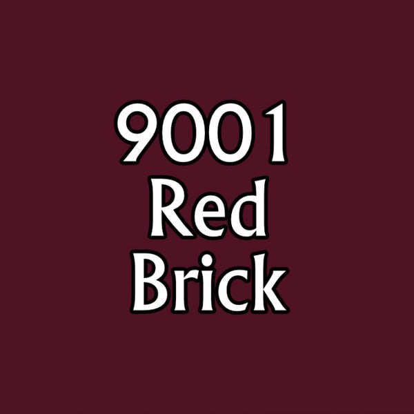 Reaper MSP Paints 9001 Red Brick)