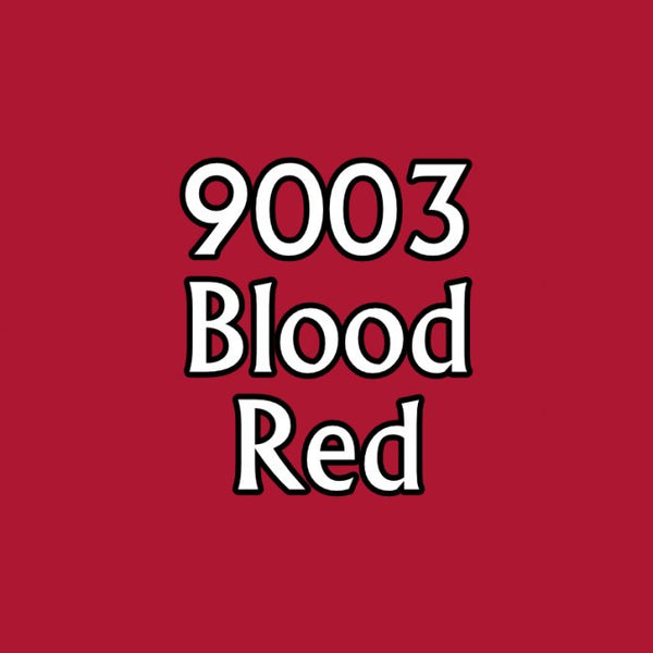 Reaper Master Series Paints: (Blood Red 9003)