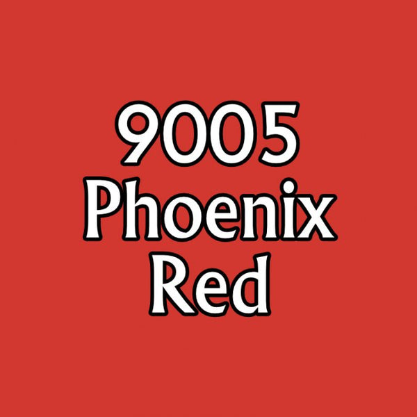Reaper MSP Paints Phoenix Red 9005