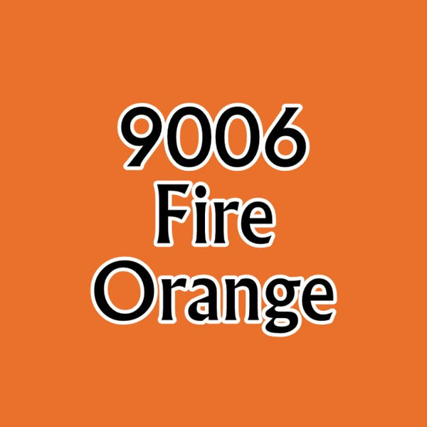 Reaper MSP Paints Fire Orange 9006