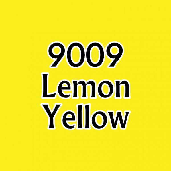 Reaper MSP Paints Lemon Yellow 9009