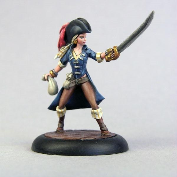 RPG Miniatures BOM10001 Meagan The Buccaneer