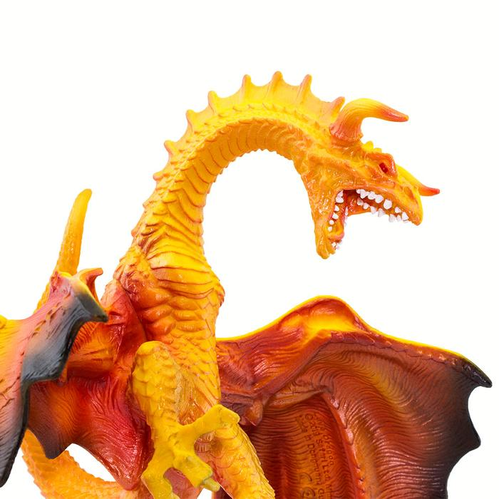 Lava Dragon Miniature 3