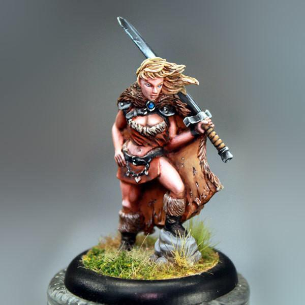Bombshell Miniatures BOM10030 Ronja The Barbarian