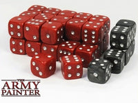 Wargaming Dice Red and Black