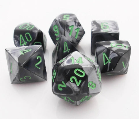 Gemini Dice Black Gray