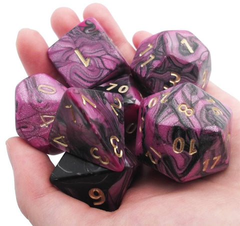 Toxic Giant Dice Pink Black