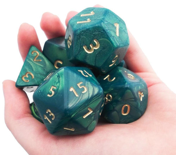 Otherworld Giant Dice Green