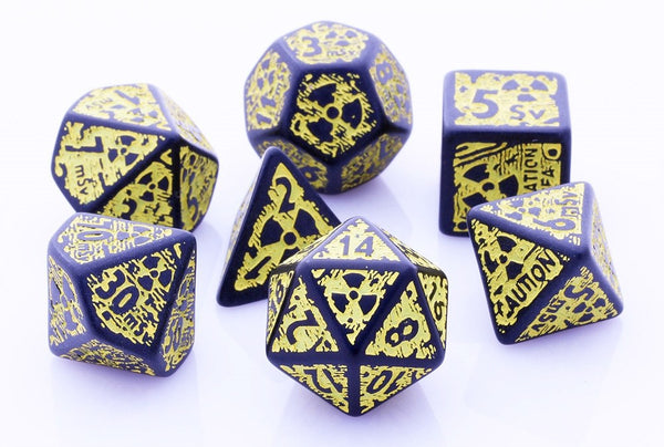 Nuke Dice Black Yellow