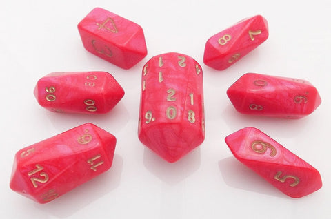 Otherworld Crystal Dice Red