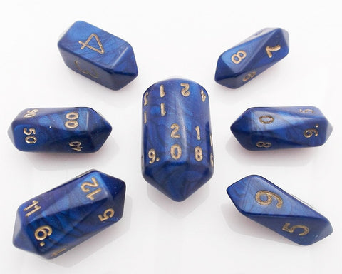 Otherworld Crystal Dice Blue