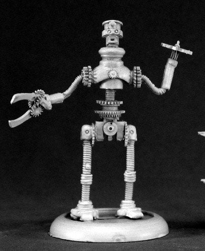 Chronoscope Miniatures Jeeves Clockwork Robot 50063