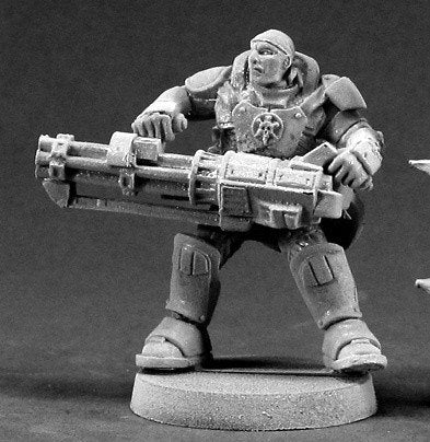 Chronoscope Miniatures IMEF Heavy Gunner 50022