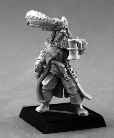 Pathfinder Miniatures Captain Bonefist 60137