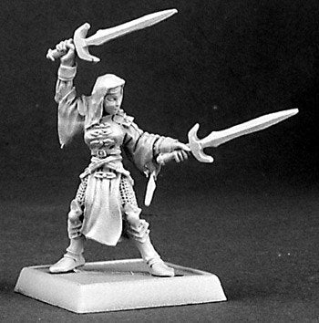 Reaper Miniatures Sister Elena Battle Nun 14372