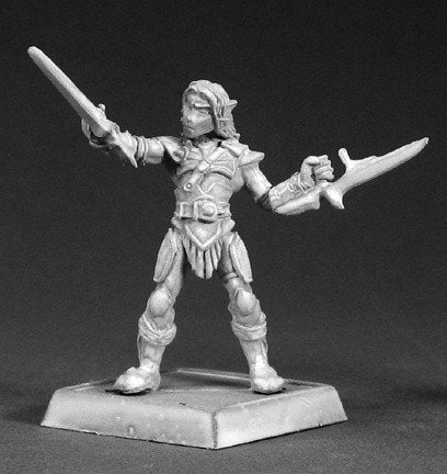 Reaper Miniatures Elf Deathseeker Hero 14484