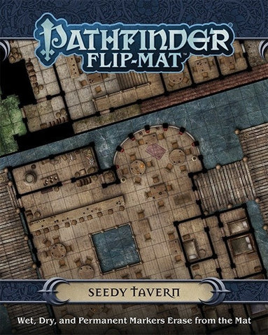 Pathfinder Flip-Mat Seedy Tavern