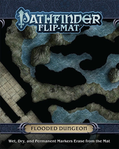 Pathfinder Flip-Mat Flooded Dungeon