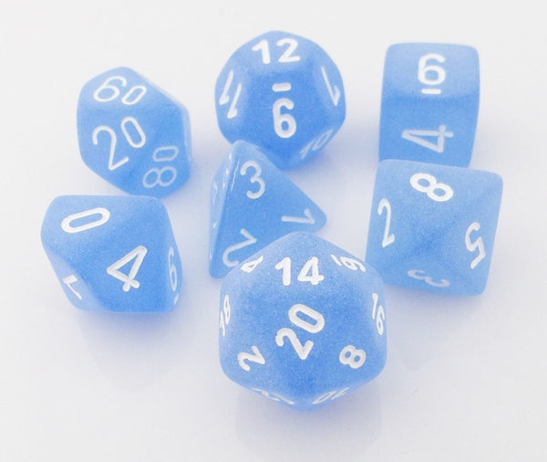 Frosted Dice Blue
