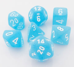 Frosted Dice Carribean Blue
