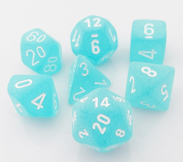 Frosted Dice Purple