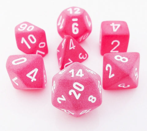 Frosted Dice Red