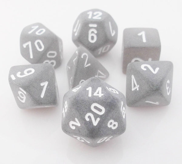 Frosted Dice Black