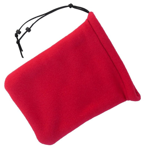 2 Pocket Dice Bag Red