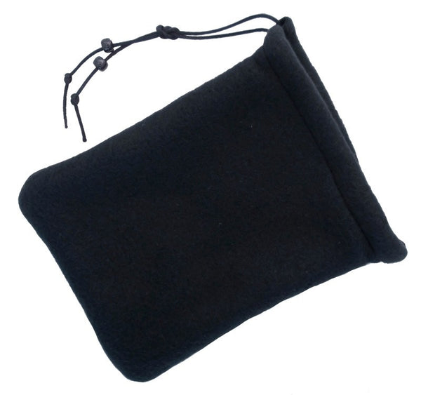 2 Pocket Dice Bag Black