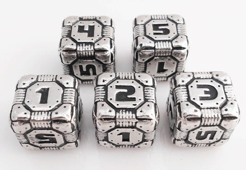 Tech Dice Metal D6