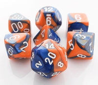 Gemini Dice Blue Orange