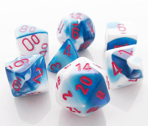 Gemini Dice Astral Blue