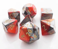Gemini Dice Orange Steel