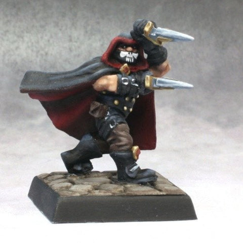 Reaper Miniatures Dwarf Assassin 14621