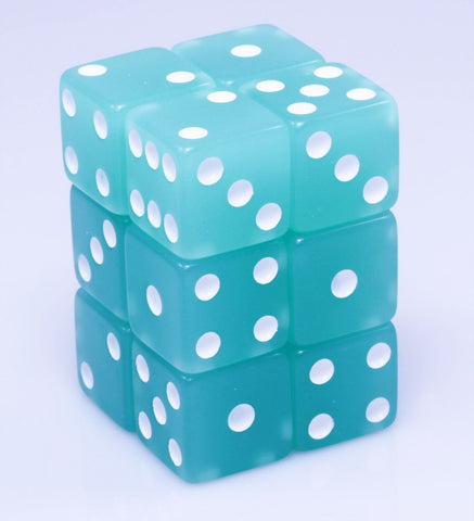 Glow In The Dark Green Dice