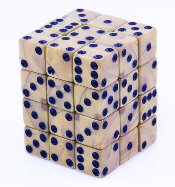 Olympic Gold d6 Mini Dice