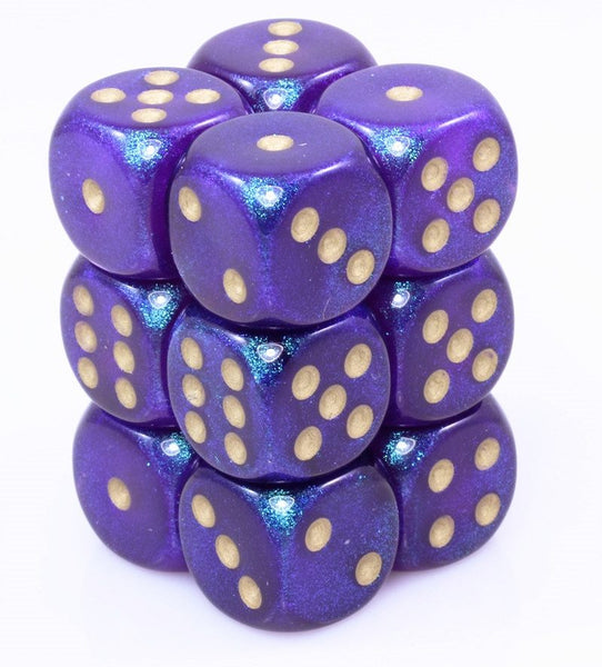Borealis Dice Royal Purple D6